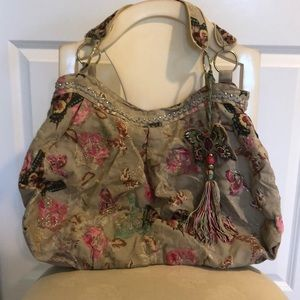 Accessorize butterfly bag